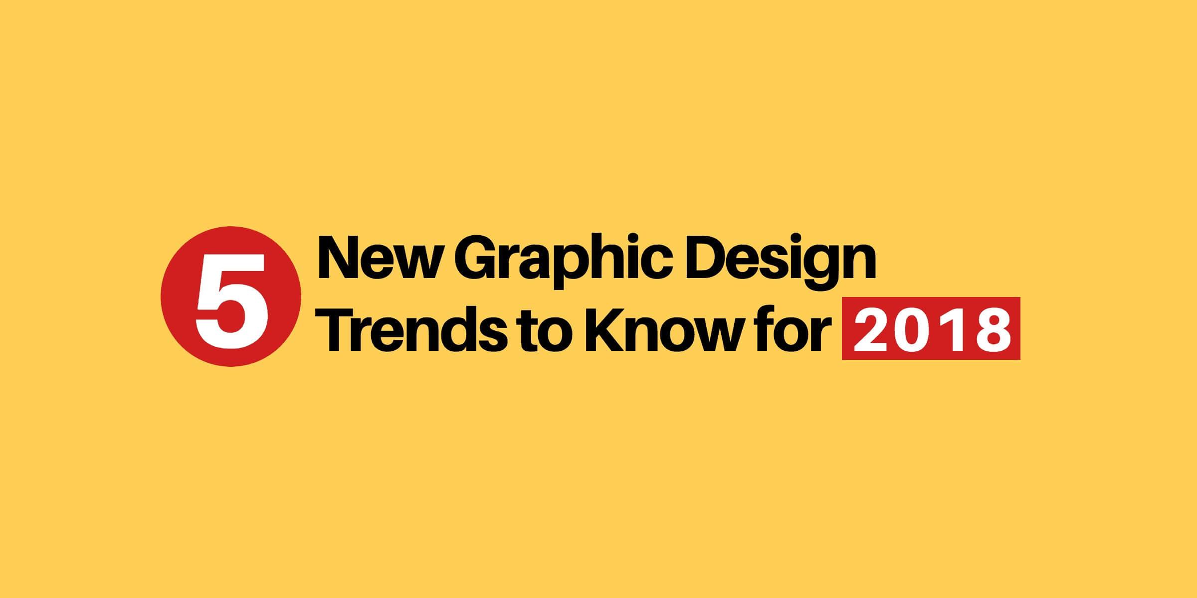 Modern Logo Design Trends: 5 New Logo Design Trends For 2018